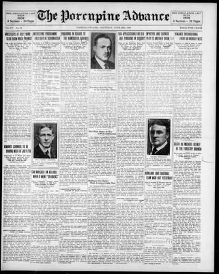 Porcupine Advance, 26 Jun 1930