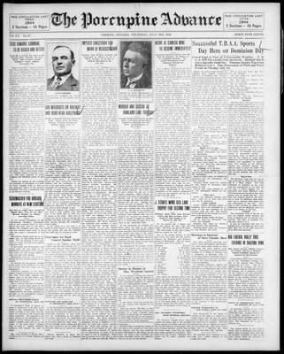 Porcupine Advance, 3 Jul 1930