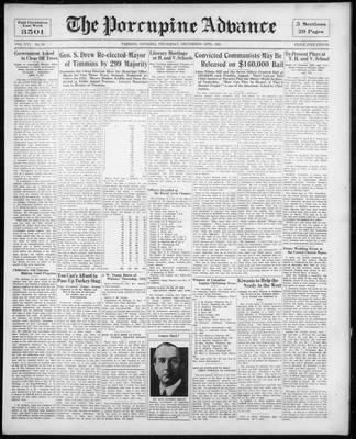 Porcupine Advance, 10 Dec 1931
