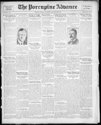 Porcupine Advance, 7 Jan 1932