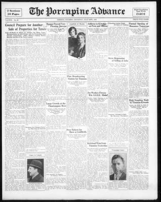 Porcupine Advance, 14 Jul 1932