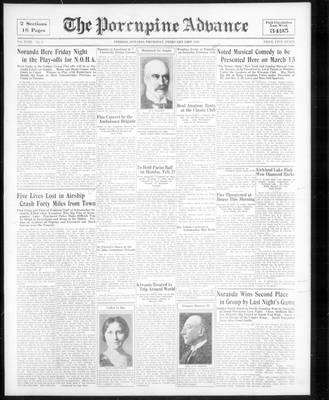 Porcupine Advance, 23 Feb 1933