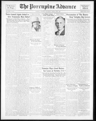 Porcupine Advance, 16 Mar 1933
