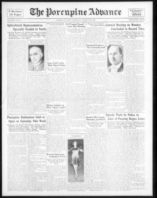 Porcupine Advance, 30 Mar 1933