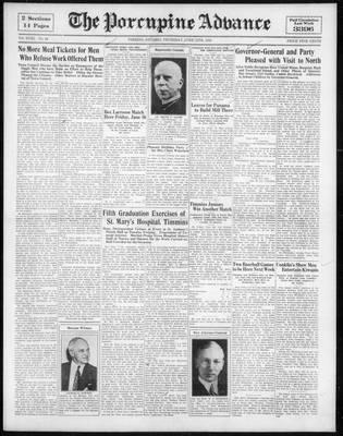 Porcupine Advance, 15 Jun 1933
