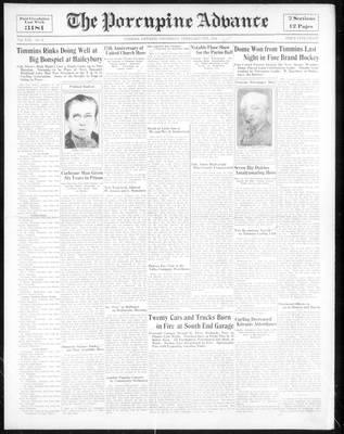 Porcupine Advance, 8 Feb 1934