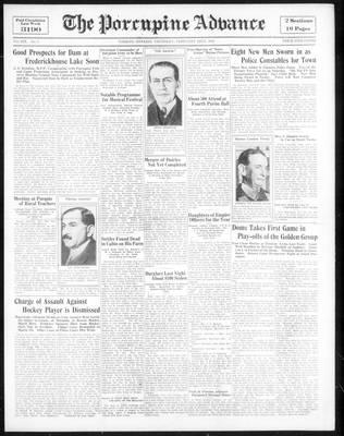 Porcupine Advance, 22 Feb 1934