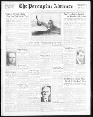 Porcupine Advance, 17 May 1934