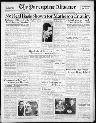 Porcupine Advance, 10 Jun 1935