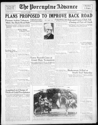 Porcupine Advance, 17 Jun 1935