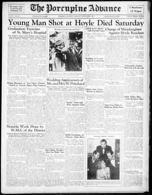 Porcupine Advance, 24 Jun 1935
