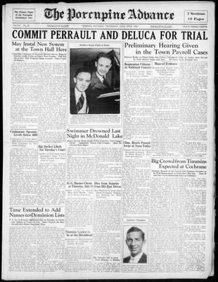 Porcupine Advance, 27 Jun 1935