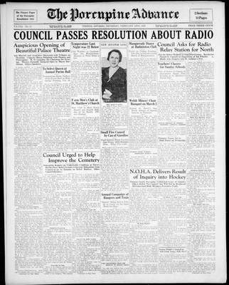 Porcupine Advance, 13 Feb 1936