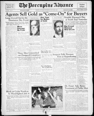 Porcupine Advance, 2 Jul 1936