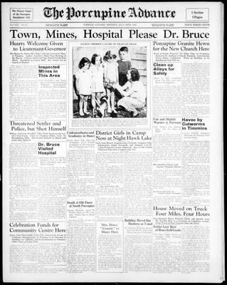 Porcupine Advance, 20 Jul 1936