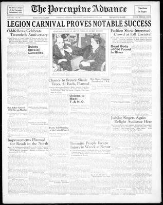 Porcupine Advance, 17 Sep 1936