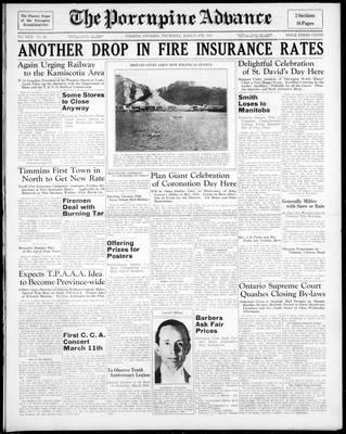 Porcupine Advance, 4 Mar 1937