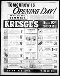 RETAIL STORES - Kresge's opens in Timmins