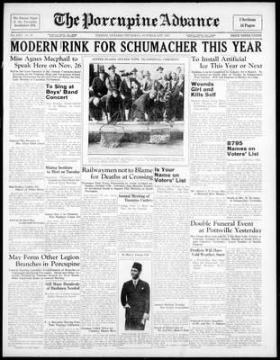 Porcupine Advance, 21 Oct 1937