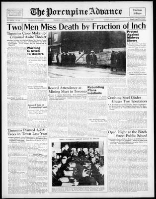 Porcupine Advance, 17 Mar 1938