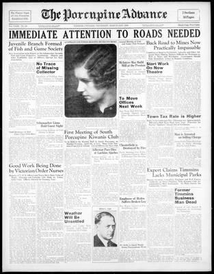 Porcupine Advance, 31 Mar 1938