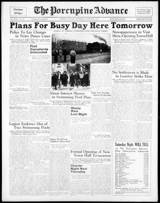Porcupine Advance, 2 Jun 1938