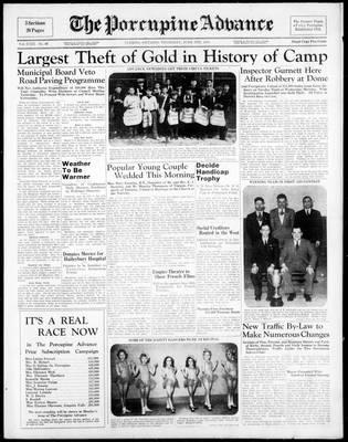 Porcupine Advance, 9 Jun 1938