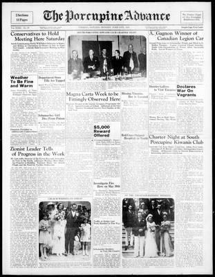 Porcupine Advance, 13 Jun 1938