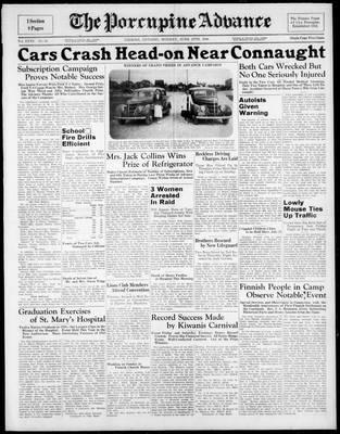 Porcupine Advance, 27 Jun 1938