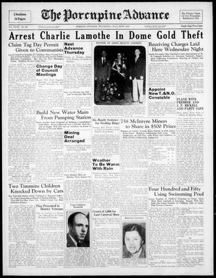Porcupine Advance, 28 Jul 1938