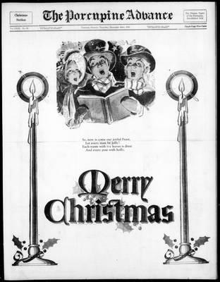 Porcupine Advance, 22 Dec 1938