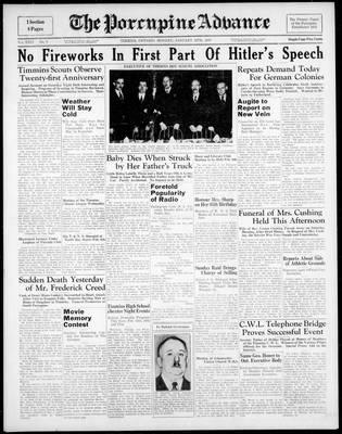 Porcupine Advance, 30 Jan 1939
