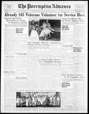 Porcupine Advance, 30 Mar 1939