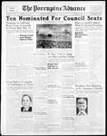 Porcupine Advance8 May 1939