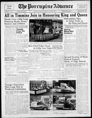 Porcupine Advance, 23 May 1939