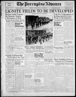 Porcupine Advance, 3 Jul 1939