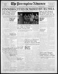 Porcupine Advance30 Nov 1939