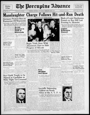 Porcupine Advance, 22 Feb 1940