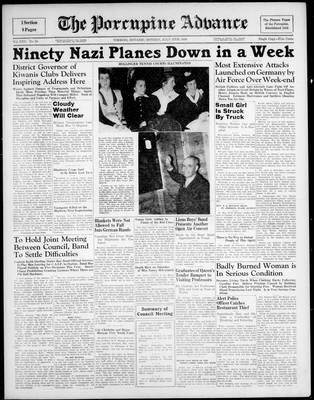 Porcupine Advance, 15 Jul 1940