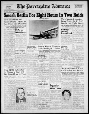 Porcupine Advance, 26 Sep 1940