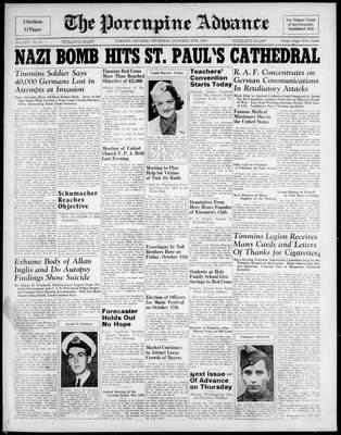 Porcupine Advance, 10 Oct 1940