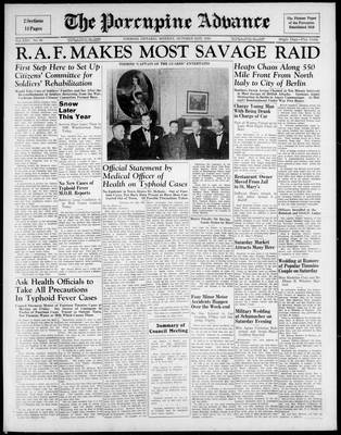 Porcupine Advance, 21 Oct 1940