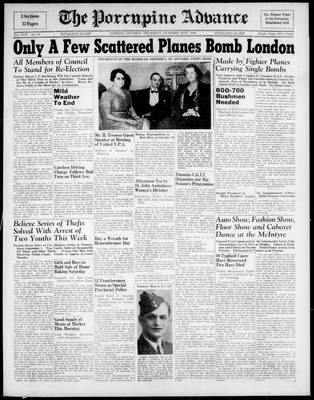 Porcupine Advance, 24 Oct 1940