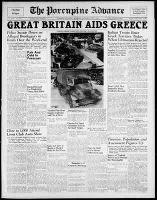 Porcupine Advance, 28 Oct 1940