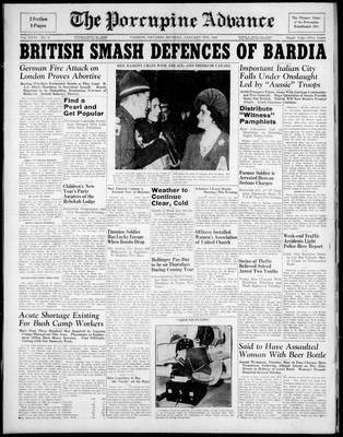 Porcupine Advance, 6 Jan 1941