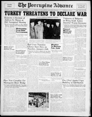 Porcupine Advance, 13 Jan 1941