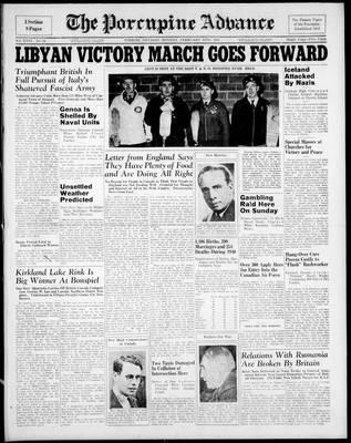 Porcupine Advance, 10 Feb 1941