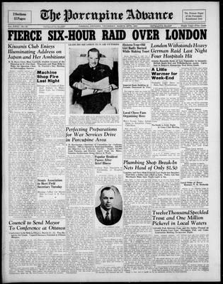 Porcupine Advance, 20 Mar 1941
