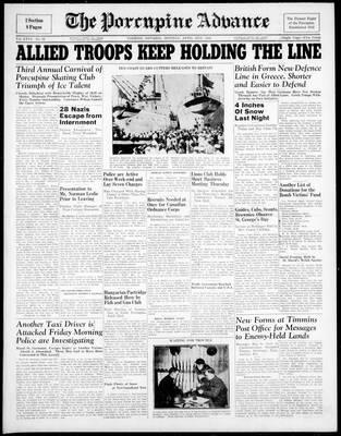 Porcupine Advance, 21 Apr 1941