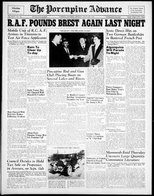 Porcupine Advance, 5 May 1941